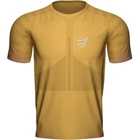 Compressport Racing SS Tshirt Men, żółty